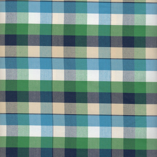 Greeen-blue-checks-yarn-dyed-fabrics