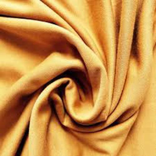 Yellow color roma viscose fabric